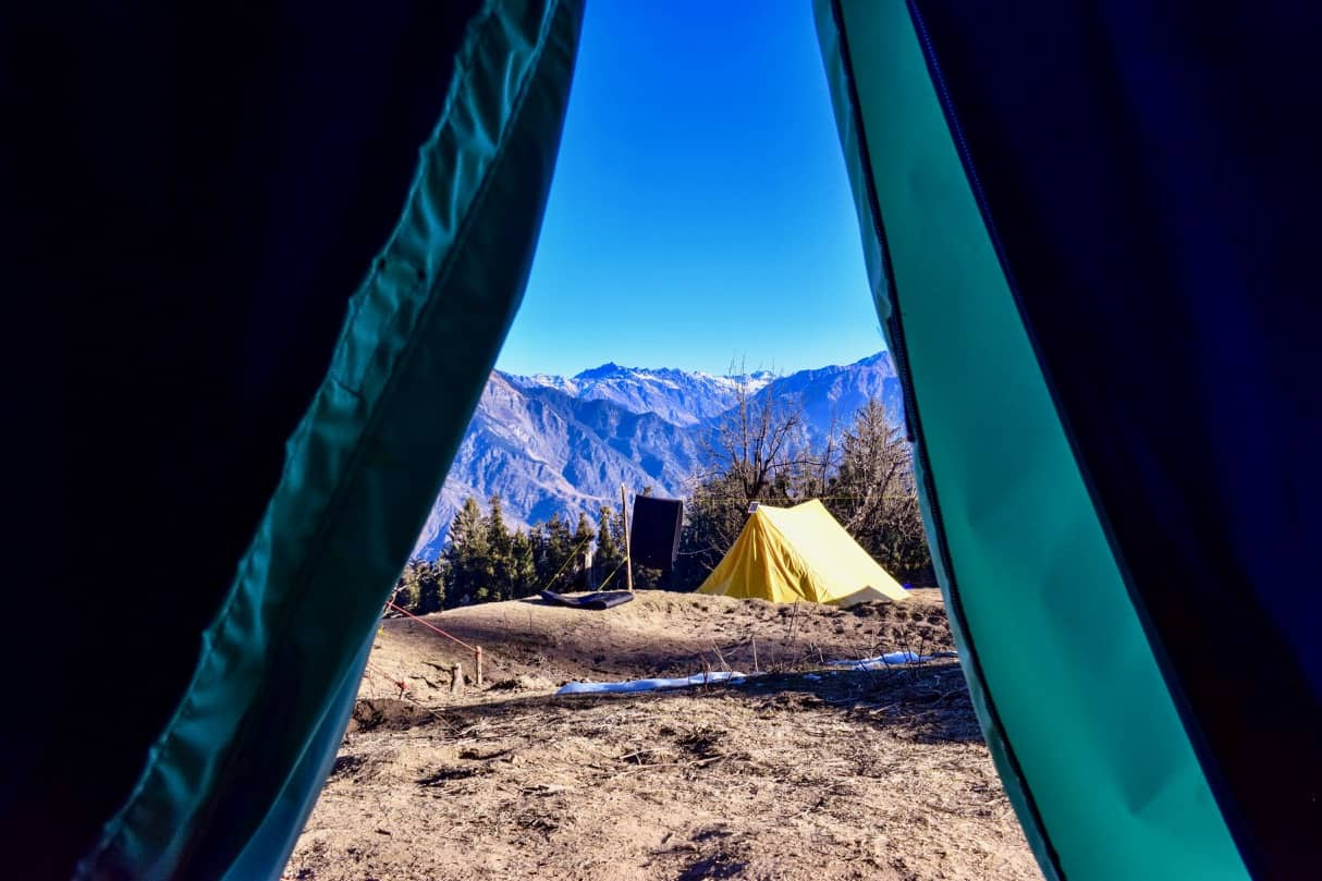 Camping at Kedarkantha Trek