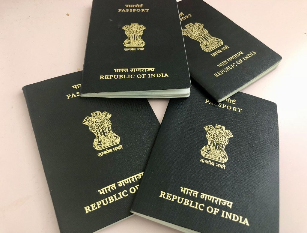 Correct your Indian Passports before you move to USA from India