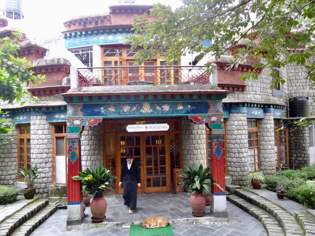 The Norbulingka Institute also provides stay options for travelers