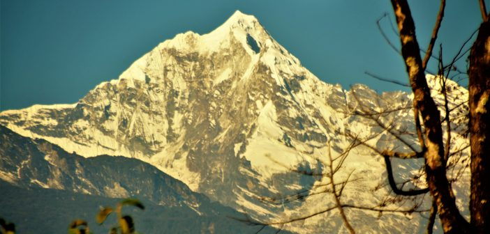 Mt Pandim from Tingvong