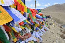North Sikkim - Prayer Flags at Gurudrongmar