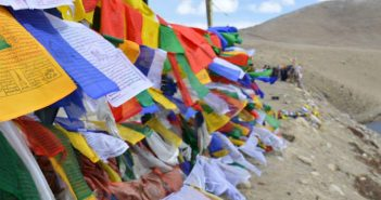 North Sikkim - Prayer Flags at Gurudrongmar