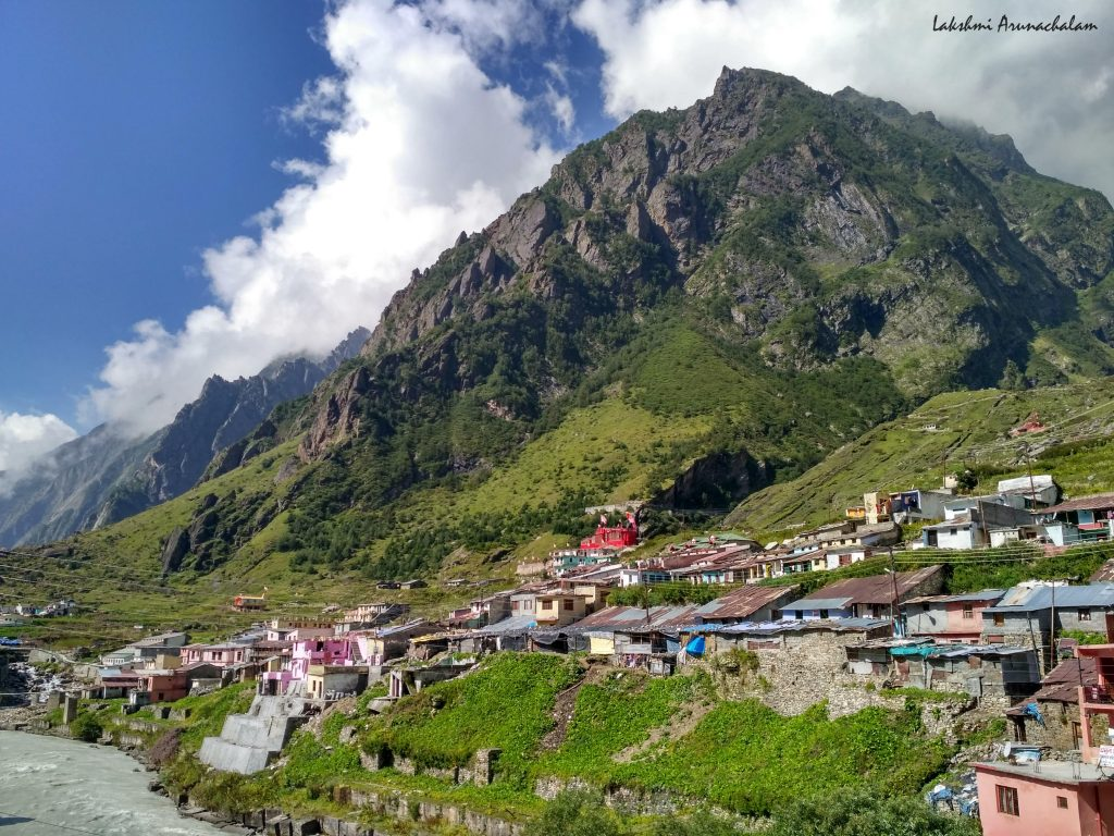 Holy town of Badrinath