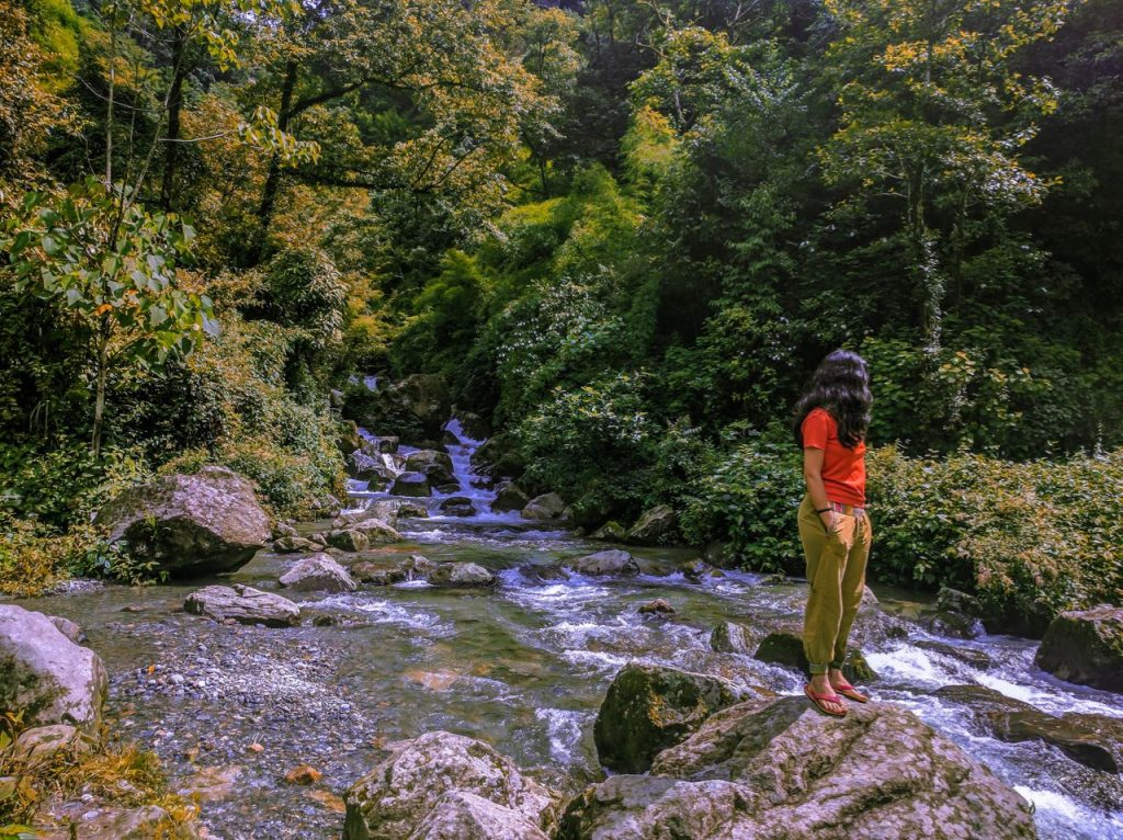 A Hidden Waterfall towards Gangtok