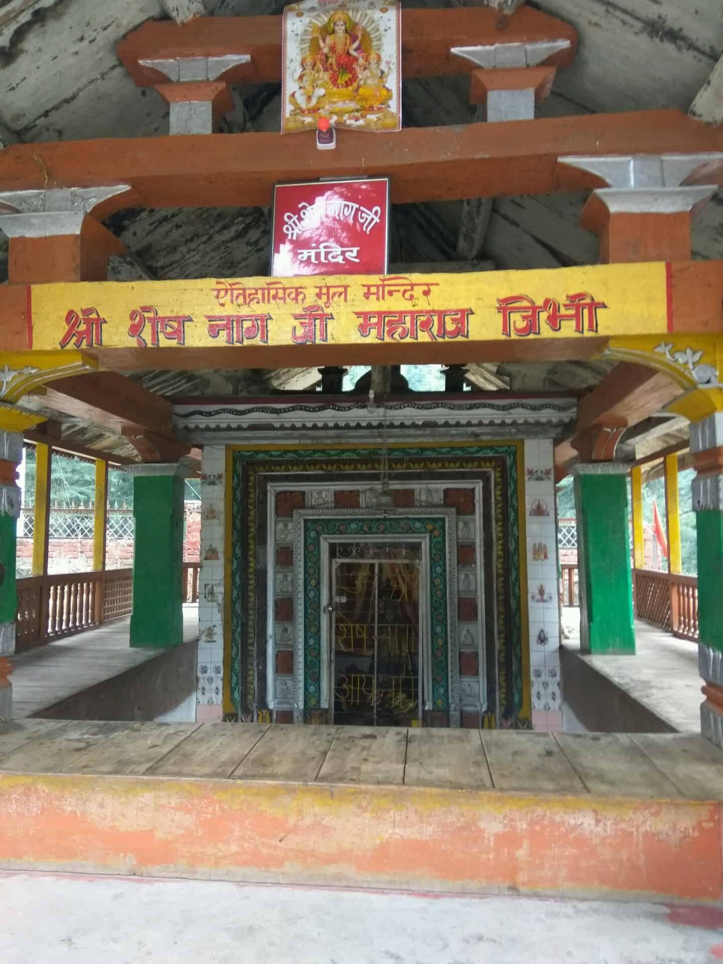 Sheshnag temple near Jibhi