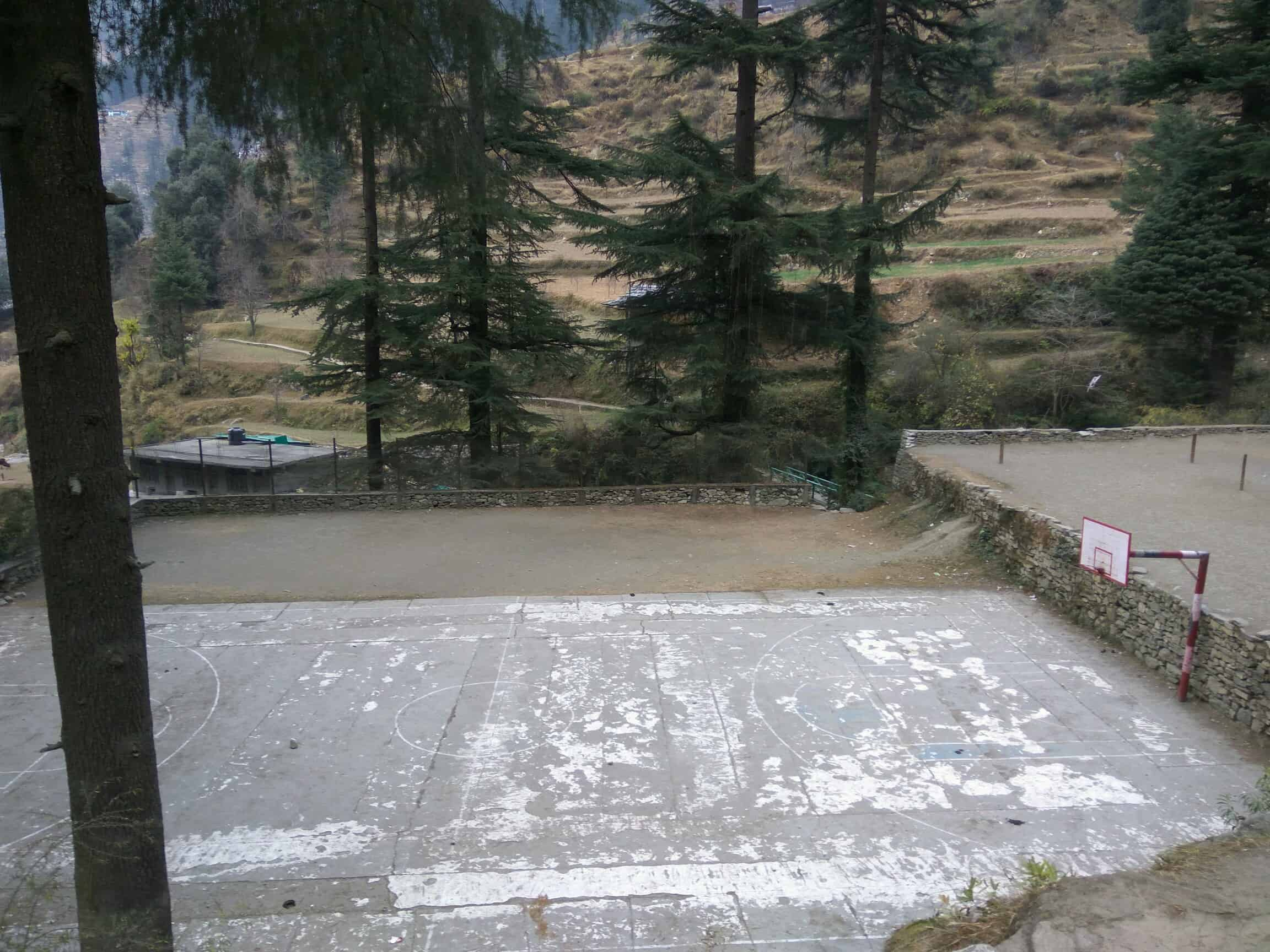 Jibhi's basketball court