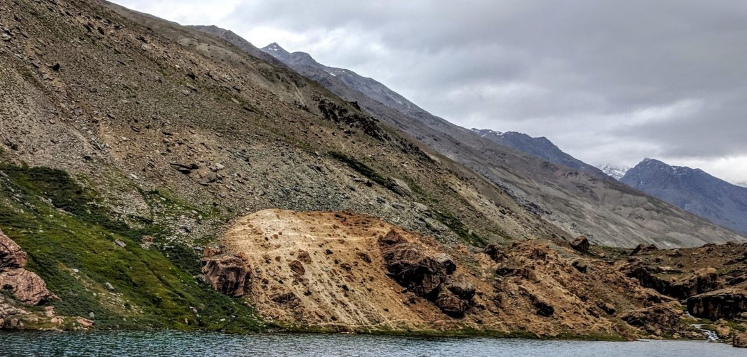 Deepak Tal - A quaint little pond at Manali - Leh Highway