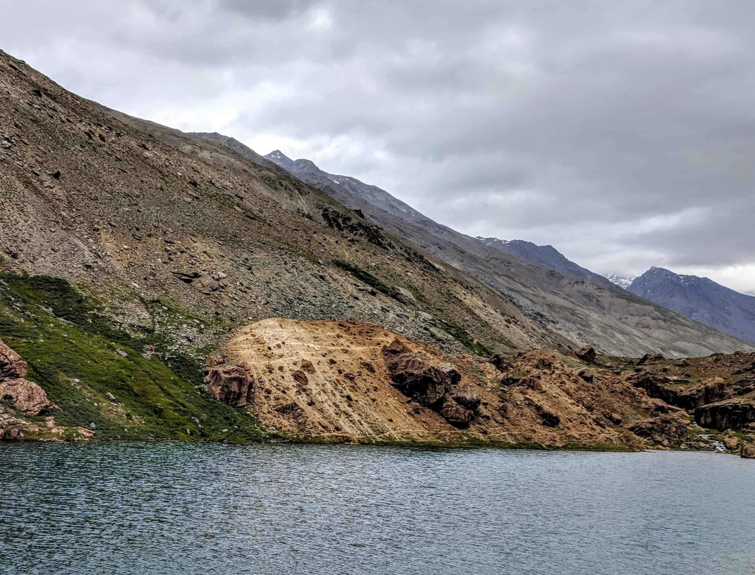Deepak Tal - A quaint little pond at Manali - Leh Highway