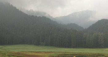 The beautiful meadow of Khajjiar
