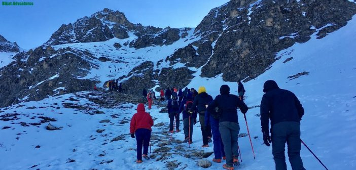 Summit push to Roopkund