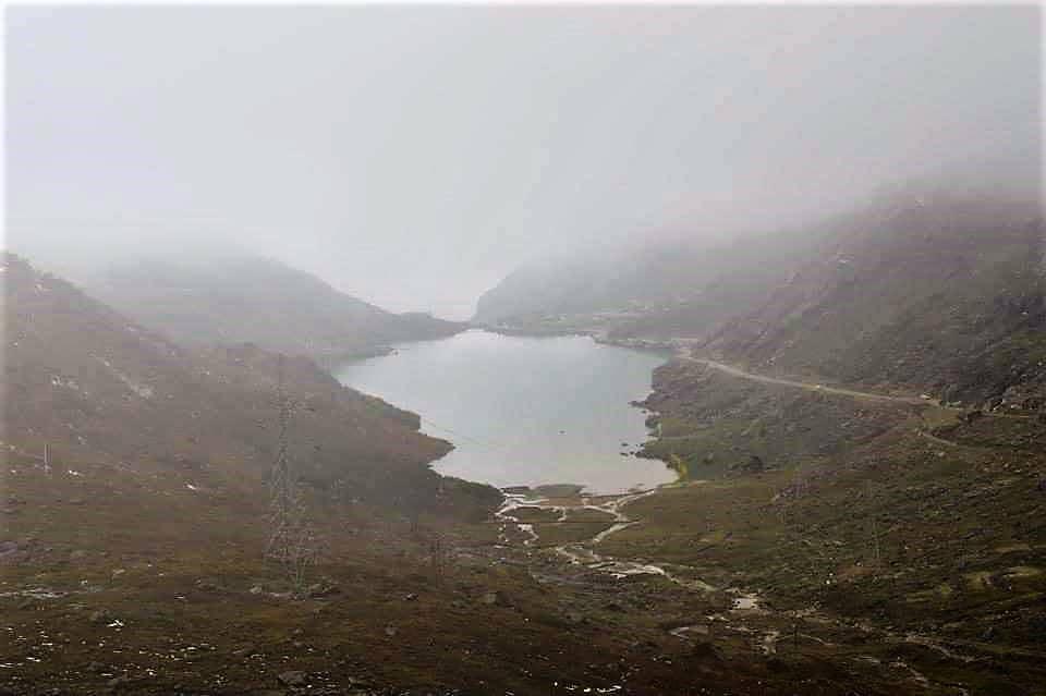 Tsomgo Lake: A Distant View