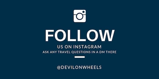 Follow us on Instagram & Ask any travel questions in DM there