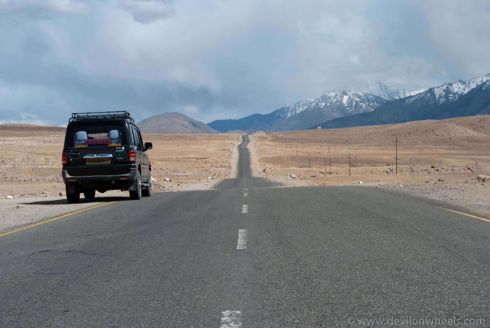 Taxi for your Most Common Itinerary for Leh Ladakh
