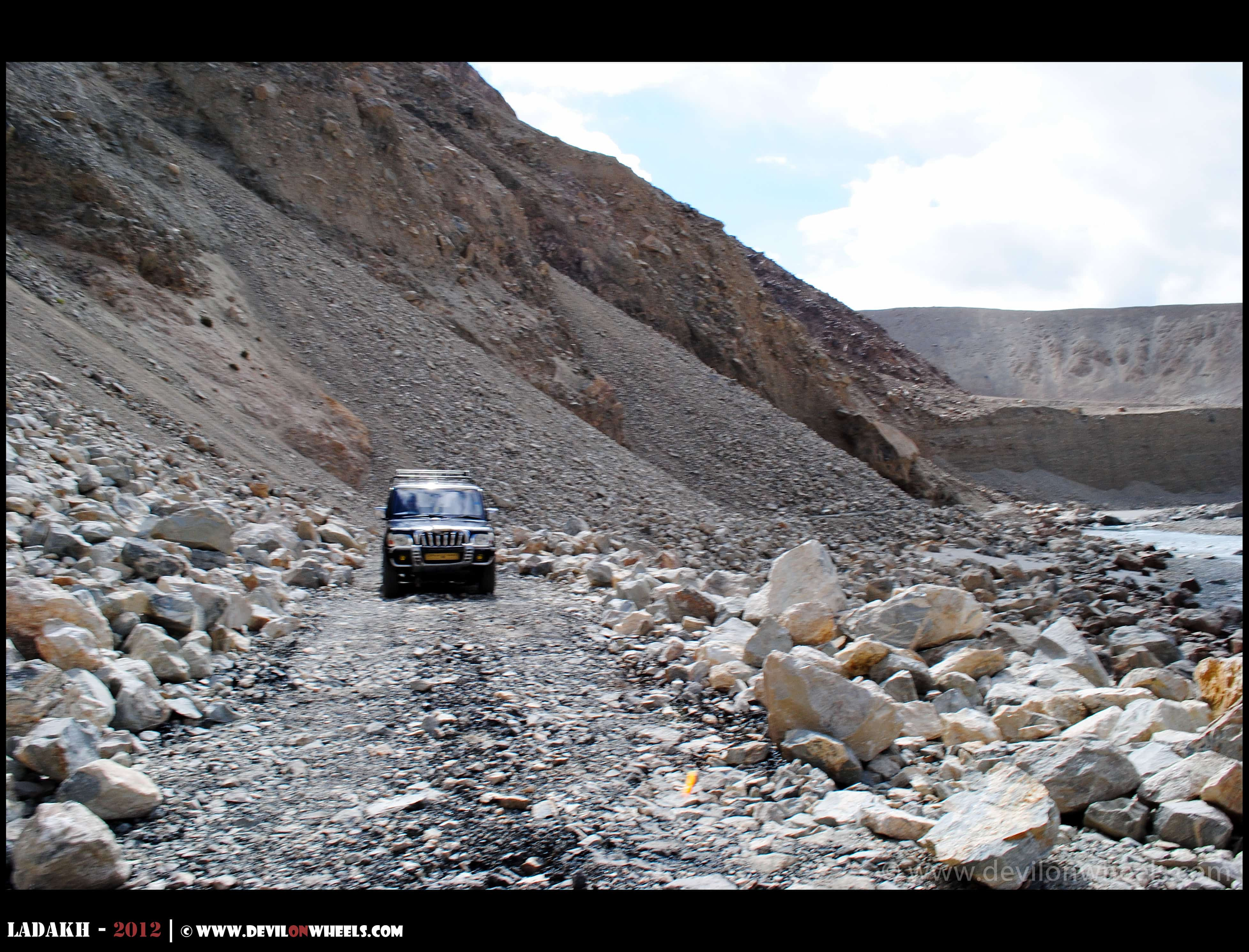 Nubra Valley to Pangong Tso Direct Route via Shyok Village