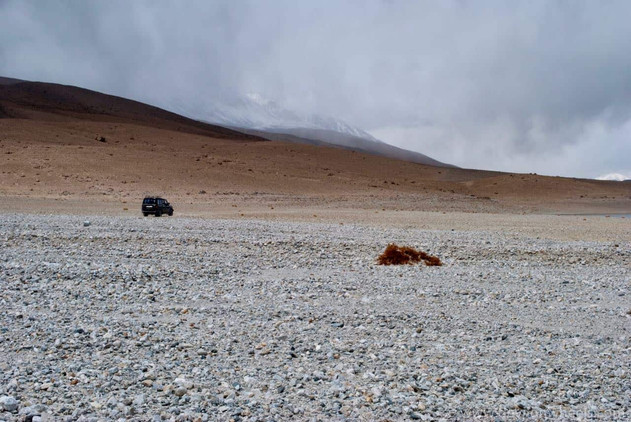 That lonely ride at Pangong Tso