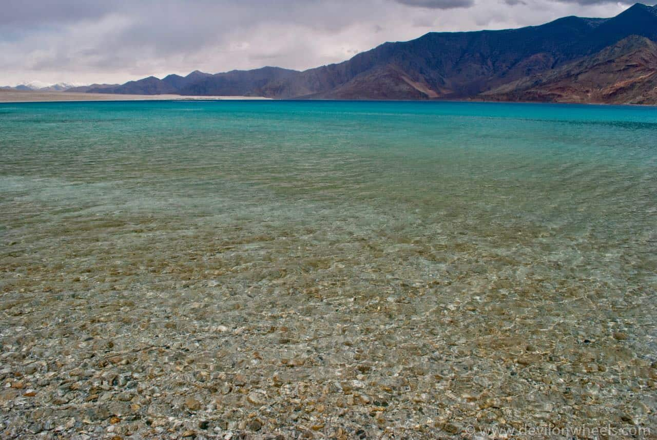 The Blues of Pangong Tso