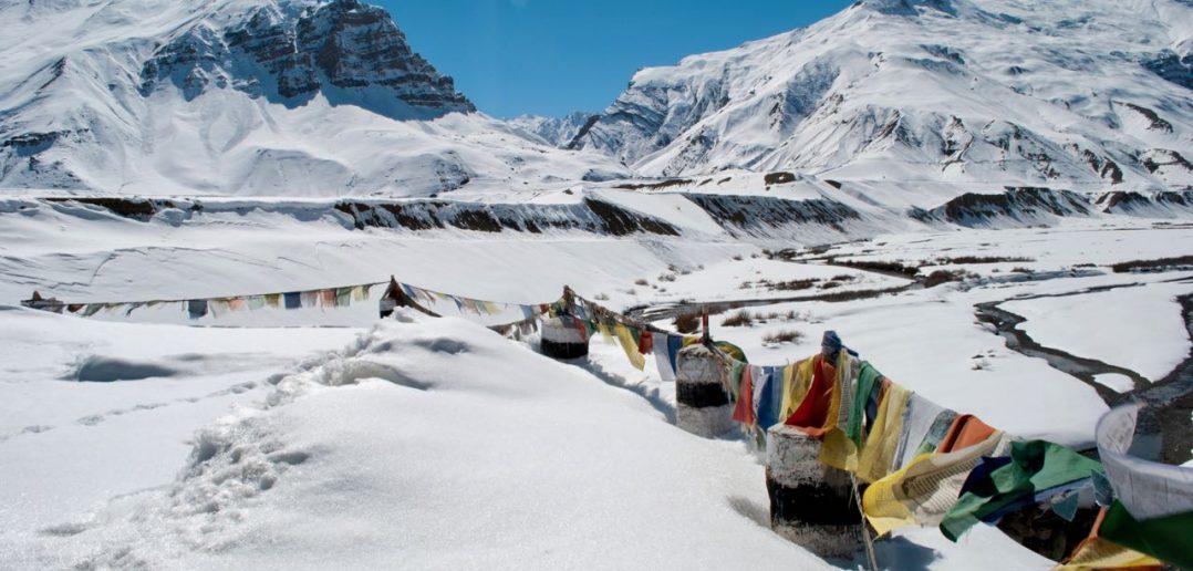 More frozen views near Kaza