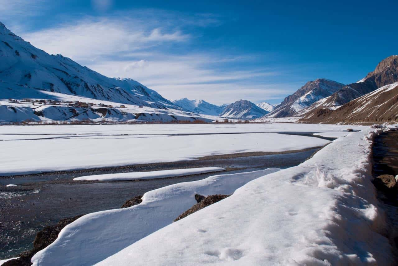 Expect such frozen beauty from Spiti Valley in March trip
