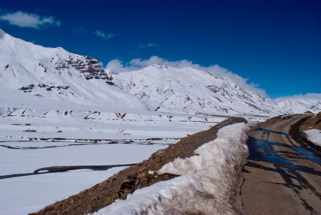 As you travel around Kaza in search of snow