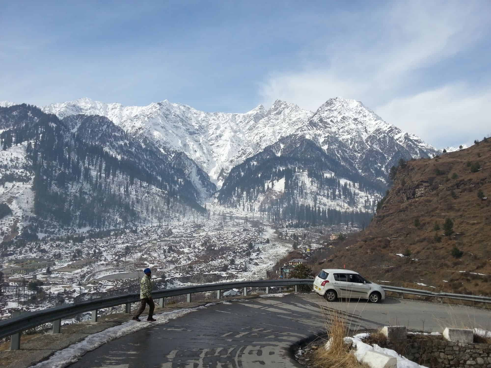Drive from Solang to Kothi