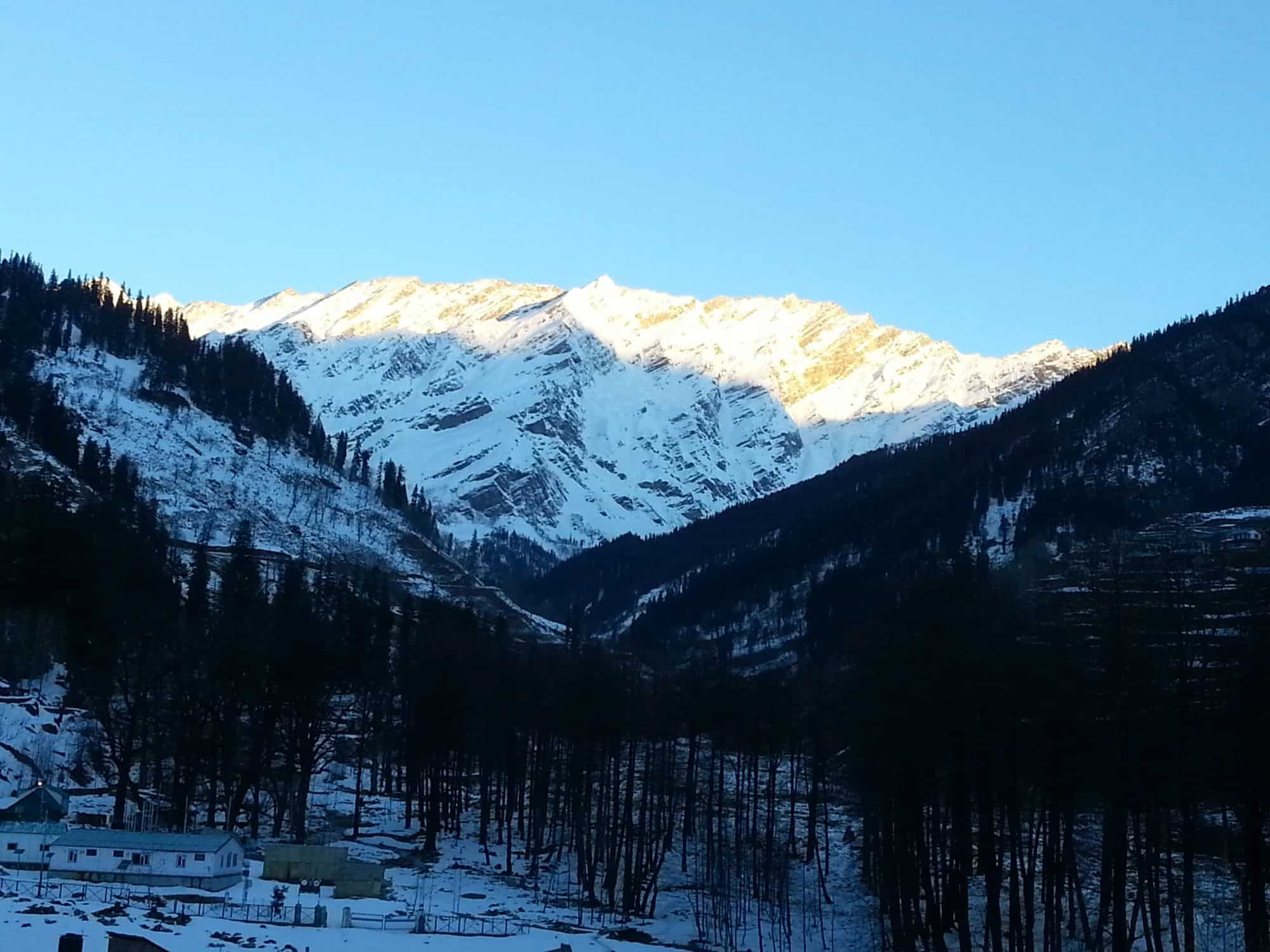 Solang valley and Kothi in winters