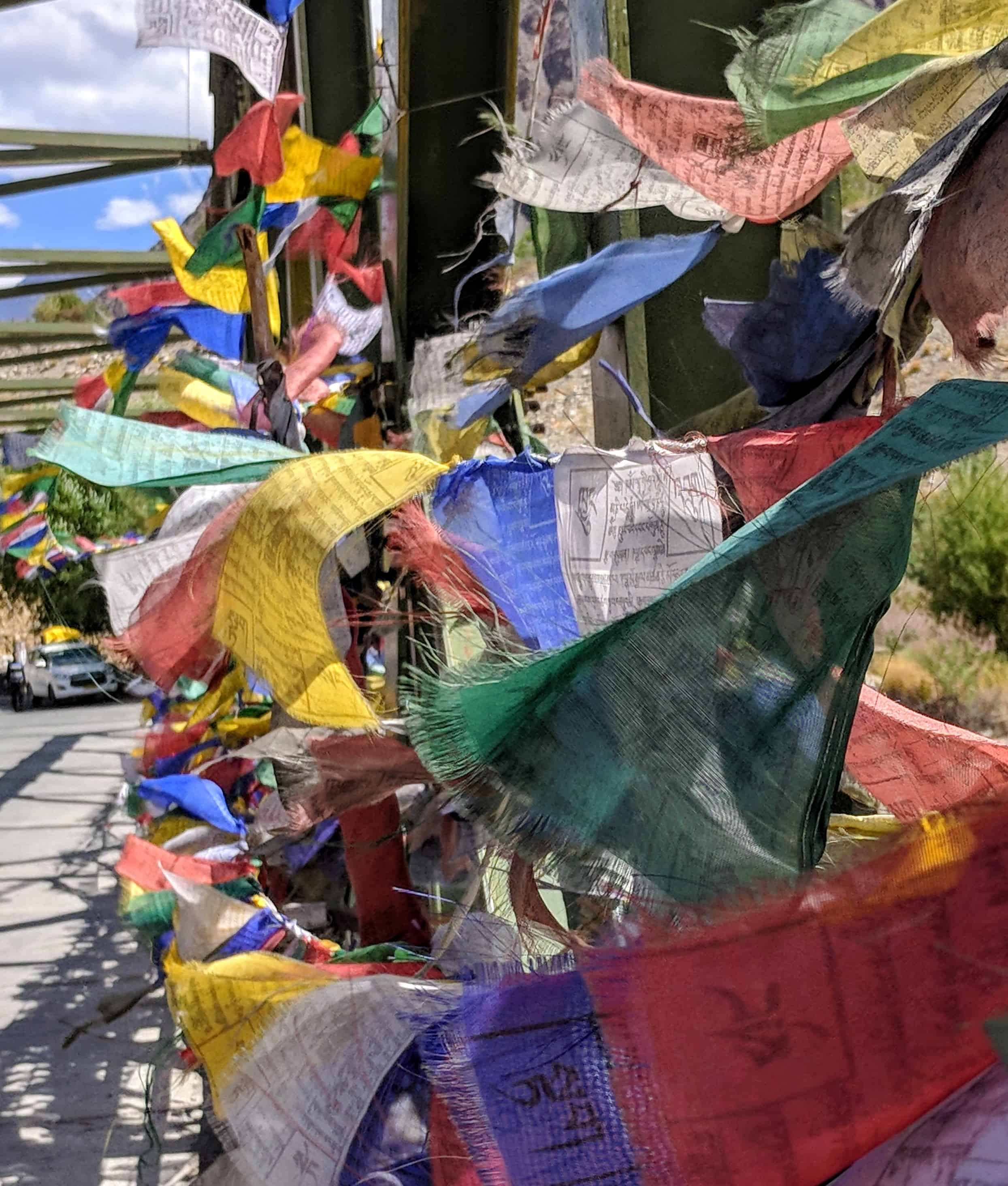 Prayer flags of beauty