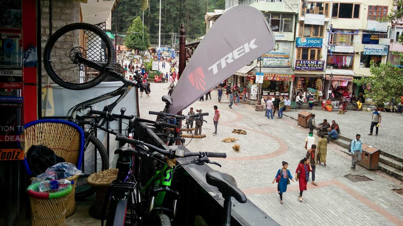 Getting ready for the ultimate adventure of Manali Leh Bike Ride