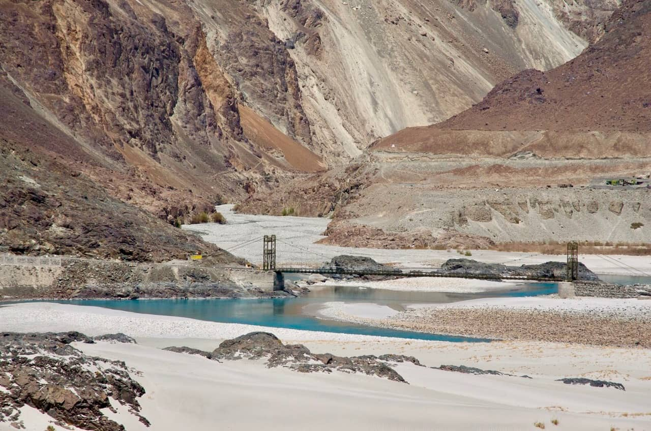 One of the beautiful bridges as you move closer towards Turtuk from Hunder