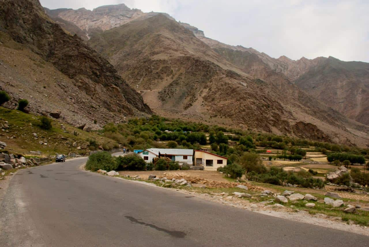 A village near Kargil