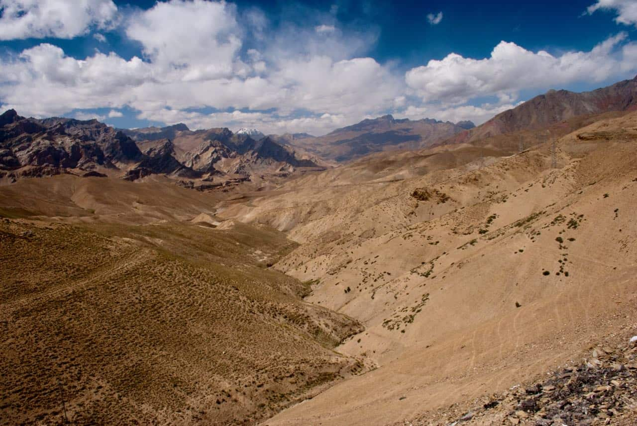 The boundless views on Kargil to Leh