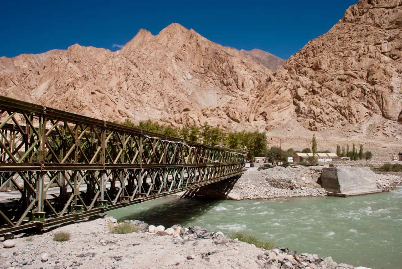 One of the many beautiful bridges in Ladakh