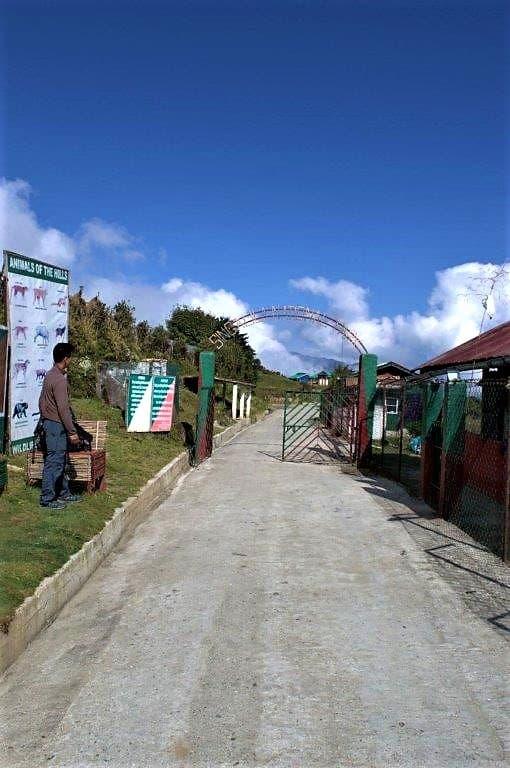 Singalila National Park Entrance shortly after Tumling