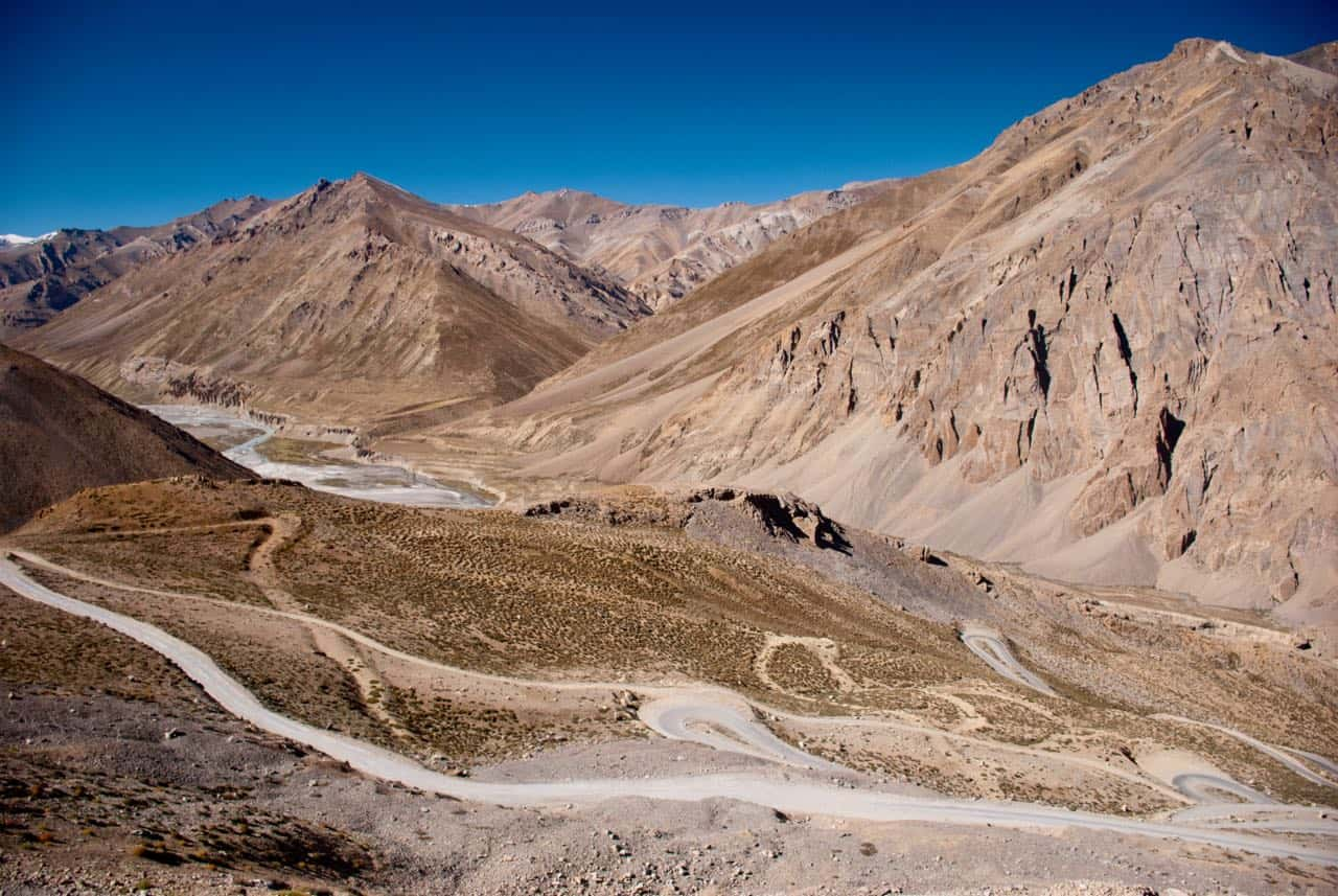 The Famous Gata Loops of Manali Leh Highway