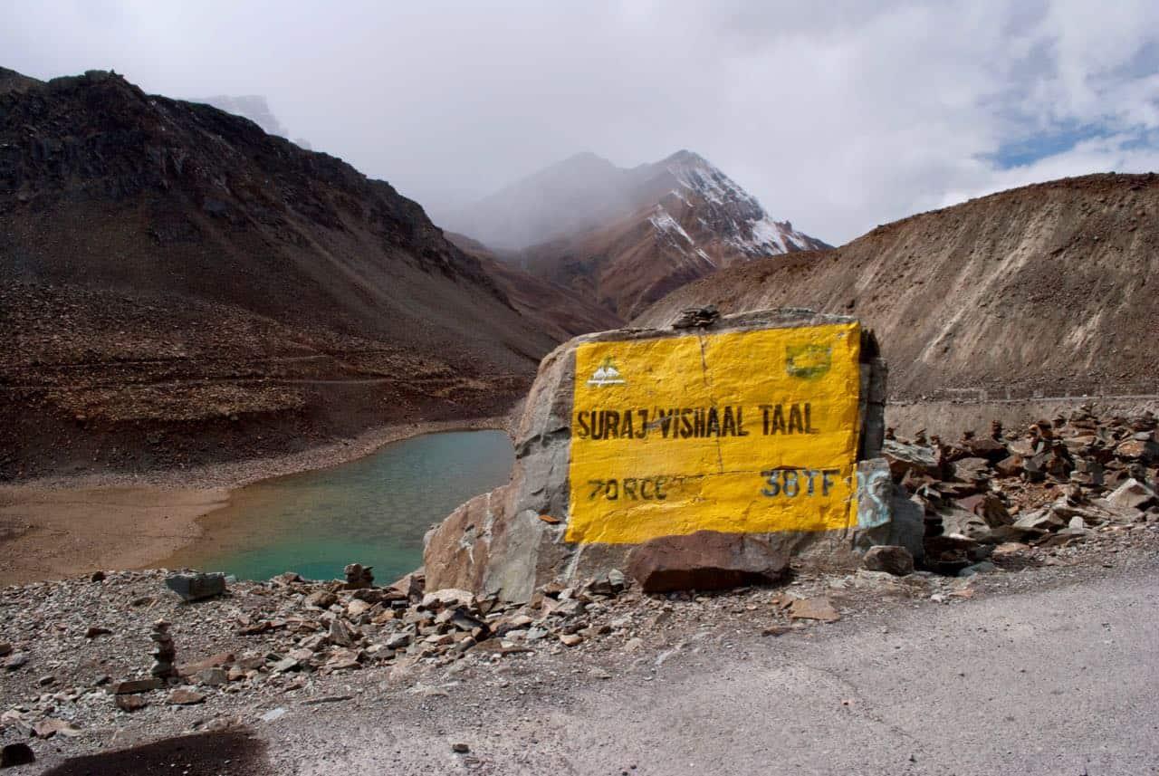 Suraj tal Lake near Baralacha La