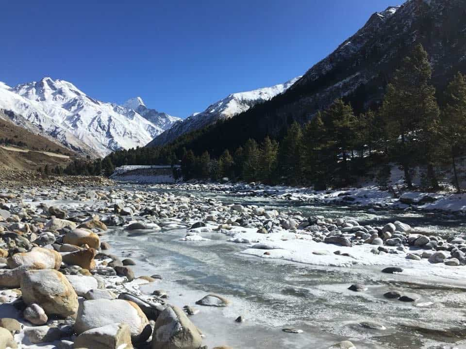 Baspa River Sangla Valley