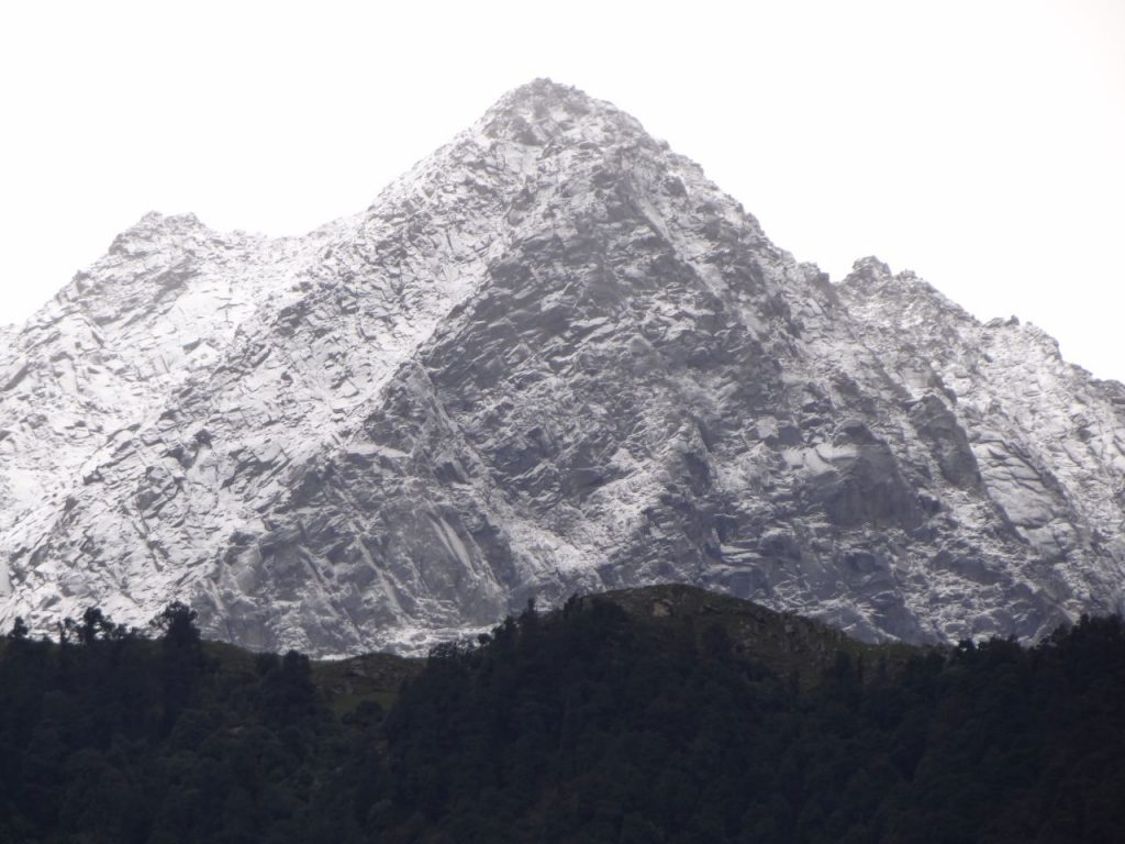 Mcleodganj mountain range of Dhauladhars