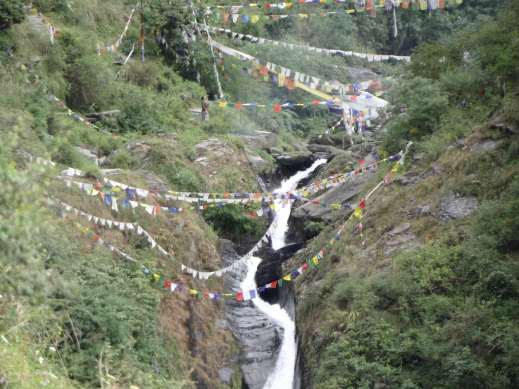 Bhagsu waterfall Mcleodganj