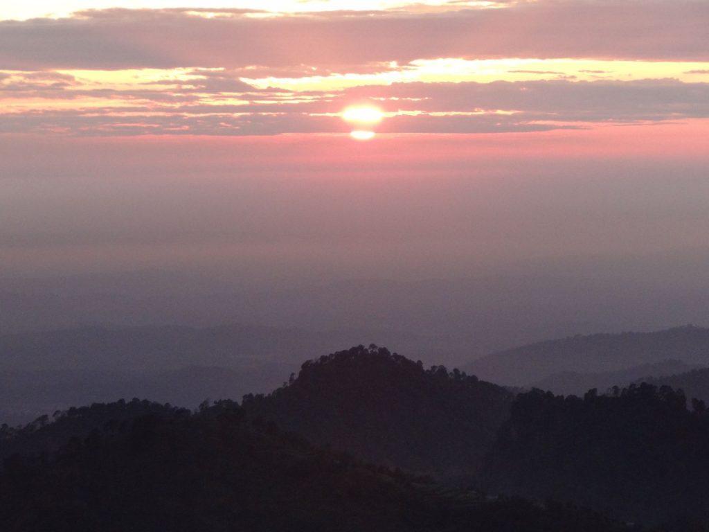 Sunset at Mcleodganj