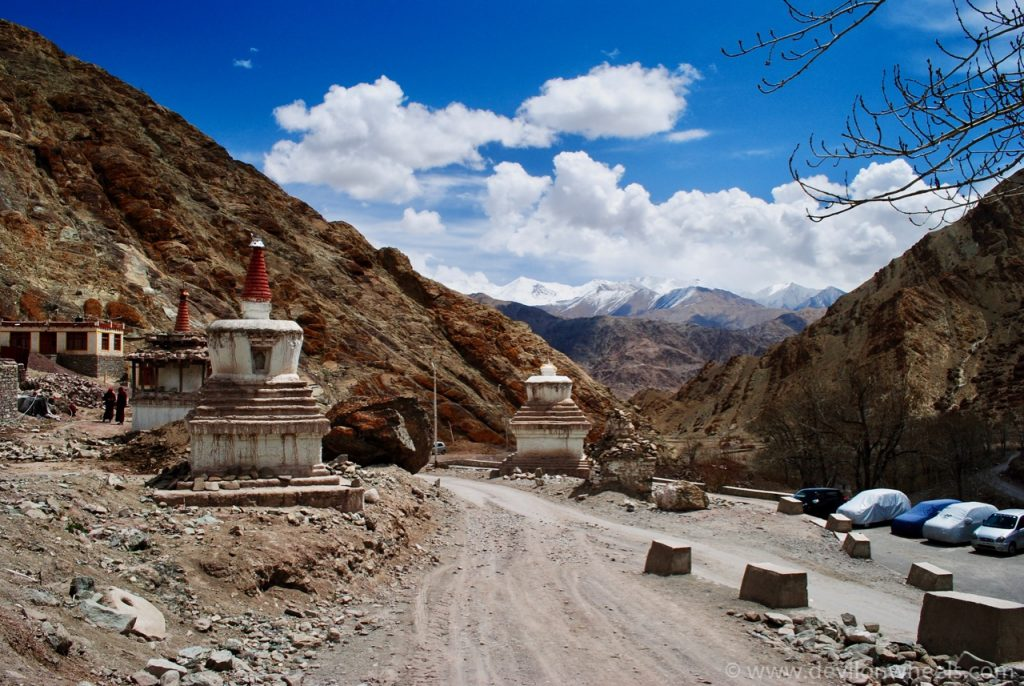 Stupas at Hemis
