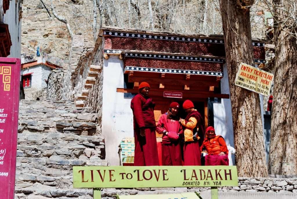 Live to Love Ladakh - Cafe Shop at Hemis
