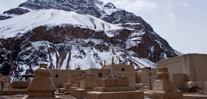 Tabo Monastery in Winters