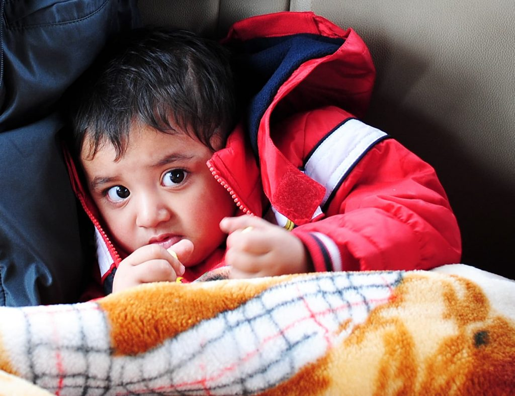 Carry enough clothes when traveling to Ladakh with kids