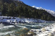 Views on the way to Chitkul from Sangla Valley