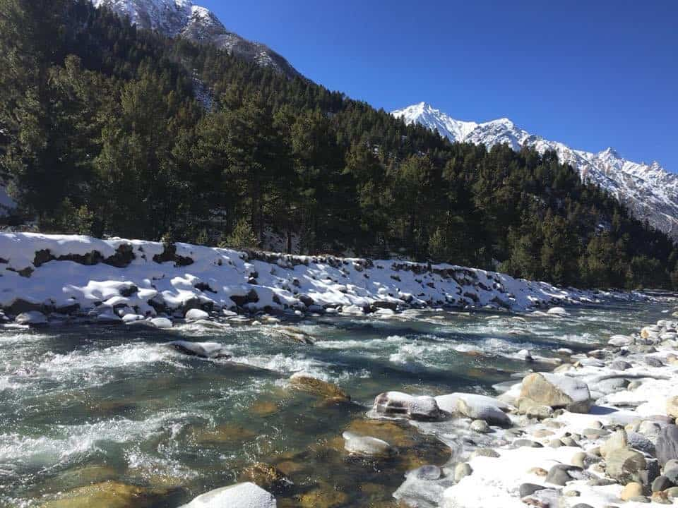 Views near Chitkul