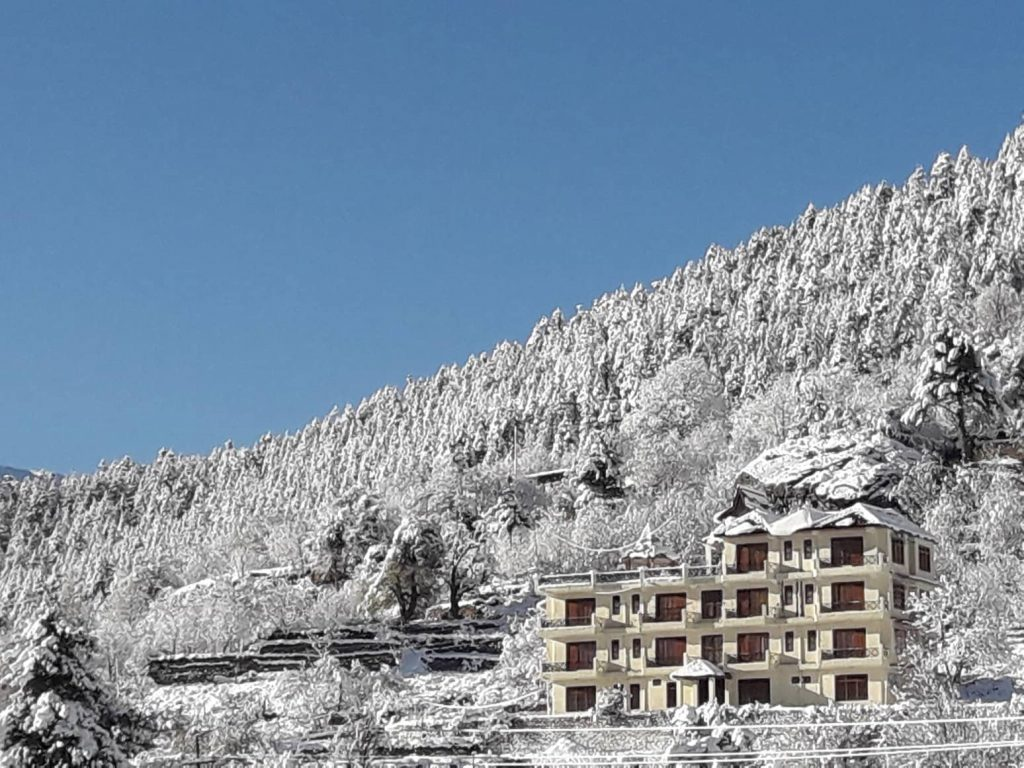 Kalpa After Snowfall