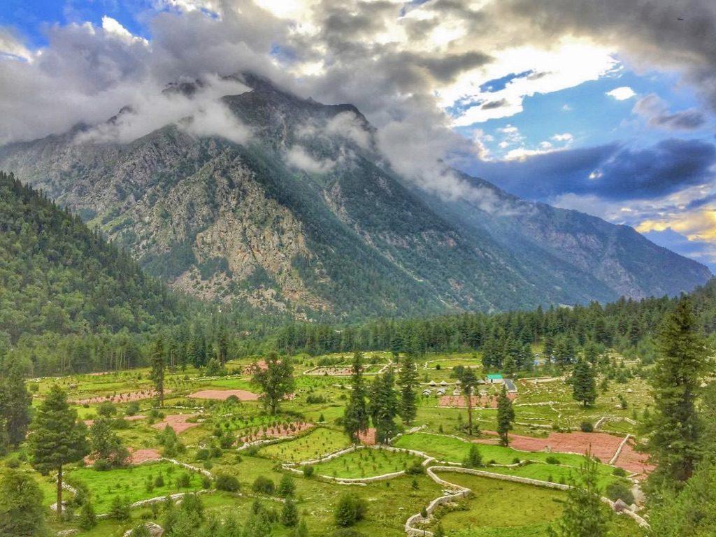 Beautiful Sangla Valley - Rakcham Village