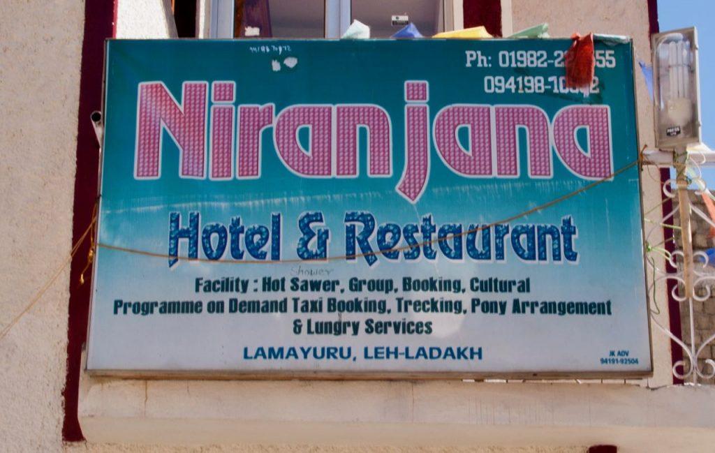 Lamayuru Restaurant & Hotel Niranjana