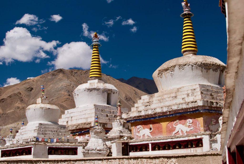 Chortens - Stupas at Lamayuru