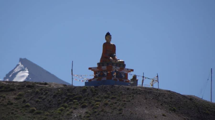 Langza Buddha Statue and Chau Chau Kang Nilda Peak