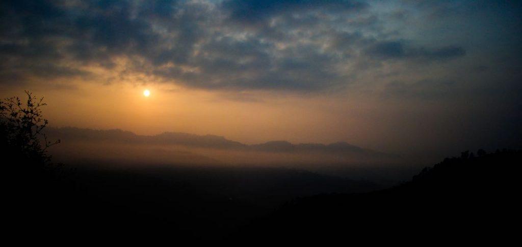 Beautiful Morning at Shimla